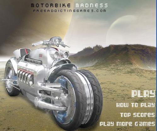 moto bike madness جنون دراجة ميتو