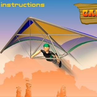 canyon glider   كانيون المنزلق