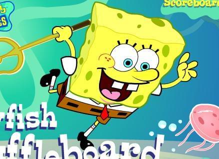 Jellyfish Shuffleboard  لعبة قنديل البحر والشيفلبورد
