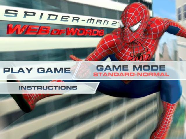 SpiderMan 2 Web of Words