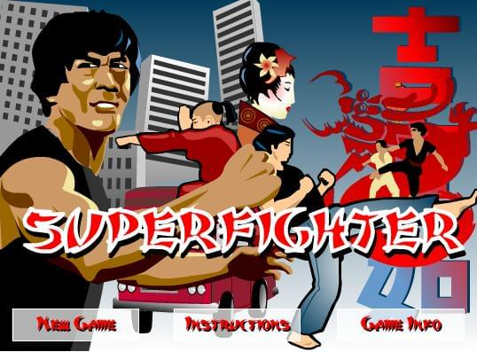 Super Figther المقاتل العنيف