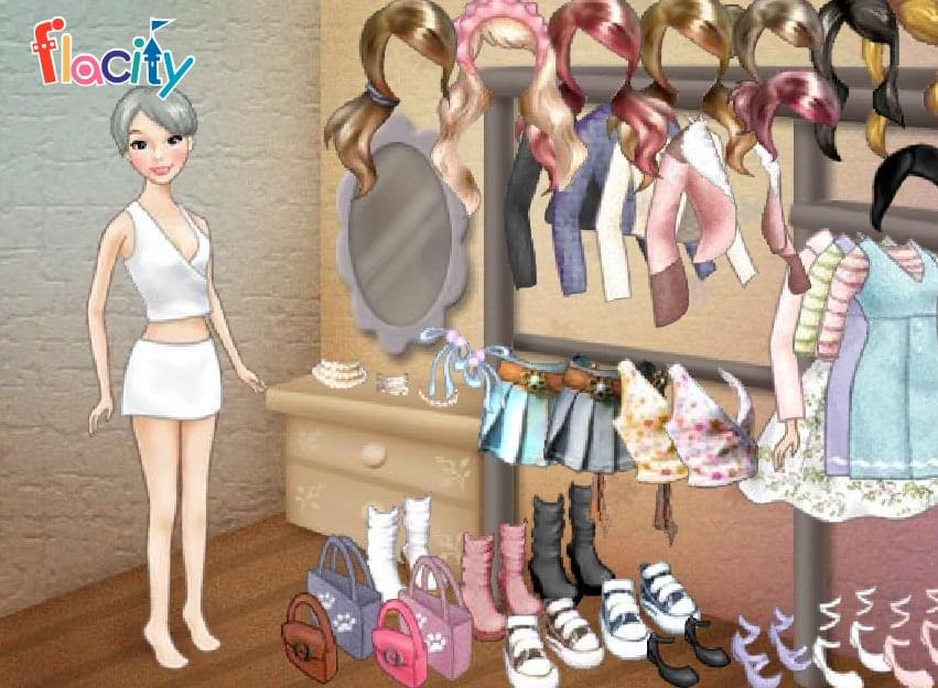 تلبيس الملابس البسيطة