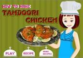 لعبة طبخ الدجاج التندورى