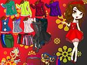 اختيار ملابس مغنية  مشهورة