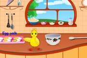 لعبة طبخ البيض للاطفال