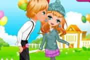 لعبة تلبيس اطفال رومانسيين