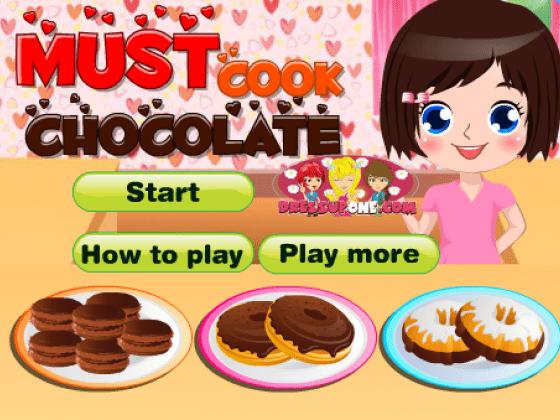 العاب طبخ حلويات بالشوكولاتة
