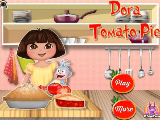 العاب طبخ دورا بنات