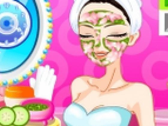 العاب تنظيف بشرة البنت الحلوة