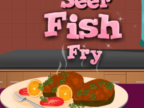 العاب طبخ السمك المقلي