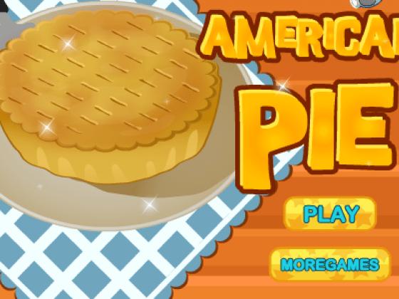 لعبة طبخ الفطيرة الامريكية