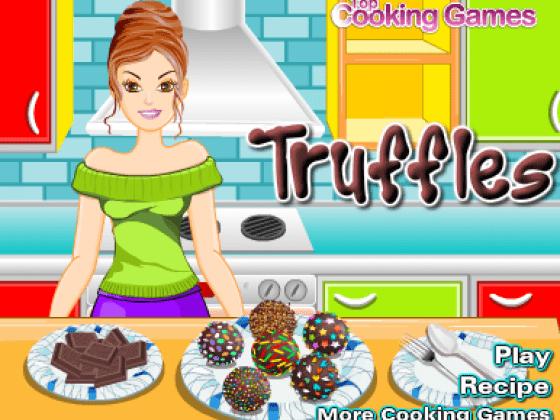 العاب طبخ كرات الحلوى