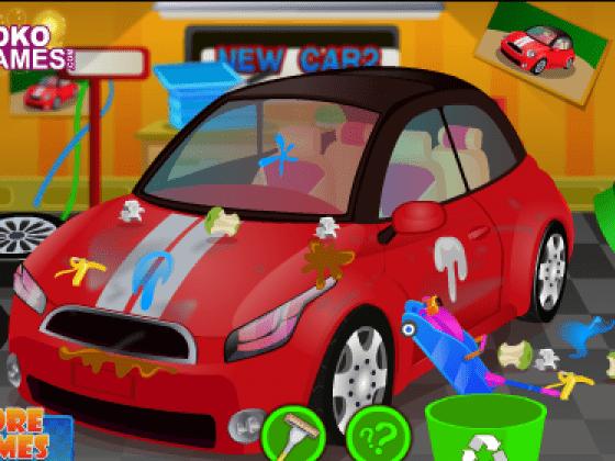 العاب تنظيف السيارة