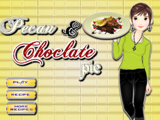العاب تحضير فطيرة الشوكولاتة