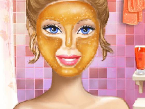 العاب تنظيف الوجه