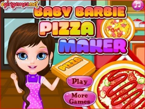 العاب بيتزا باربي