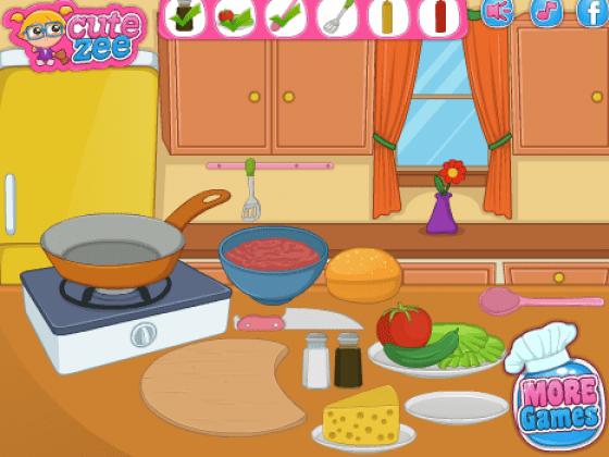 لعبة طبخ جميلة