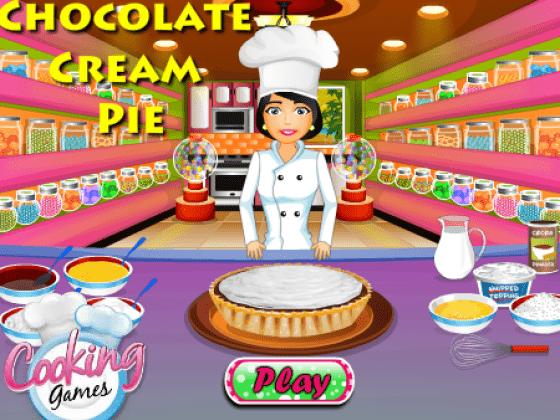 العاب طبخ فطيرة الشوكولاتة