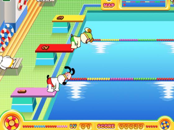 لعبة بطولة السباحة