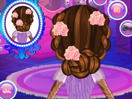 العاب تسريحات الشعر للبنات فقط