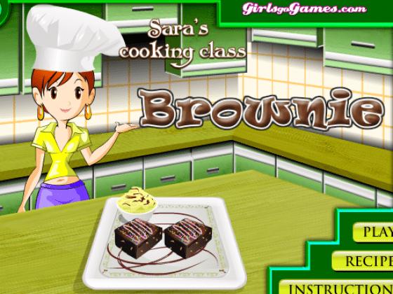 العاب طبخ حلويات سارة 2014