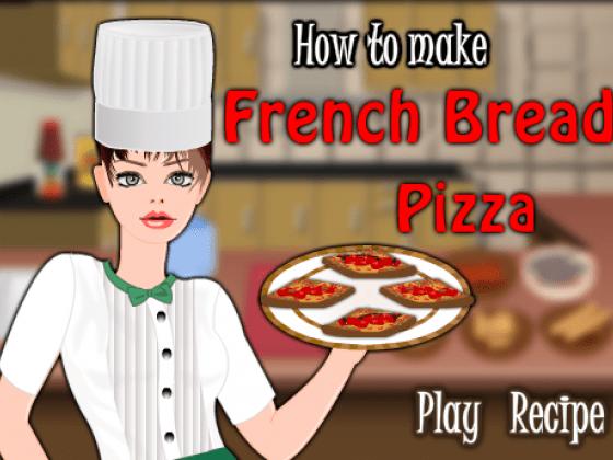العاب طبخ البيتزا الفرنسية