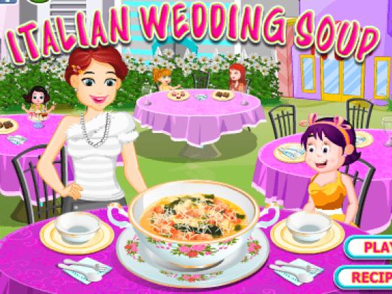 العاب طبخ الشوربة الايطالية