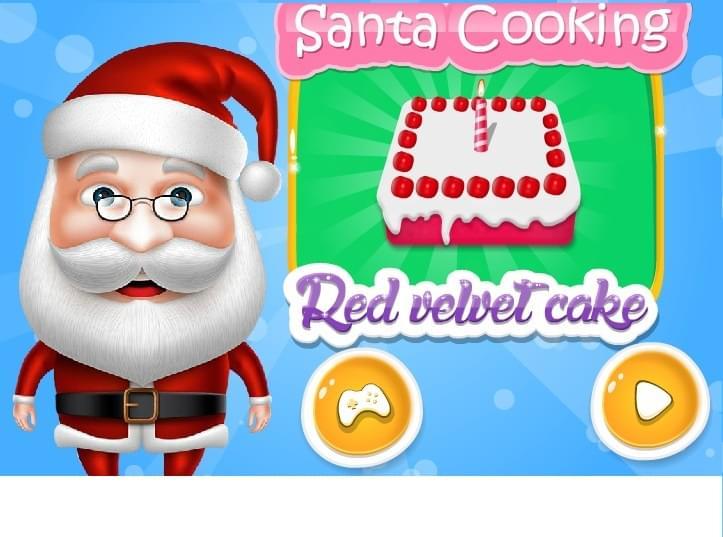 لعبة طبخ سانتا كلوز 2016