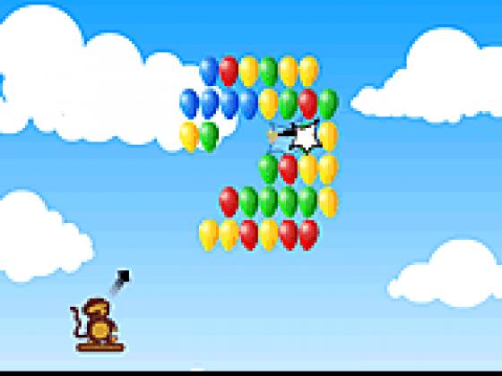 لعبة نيشان البالونات