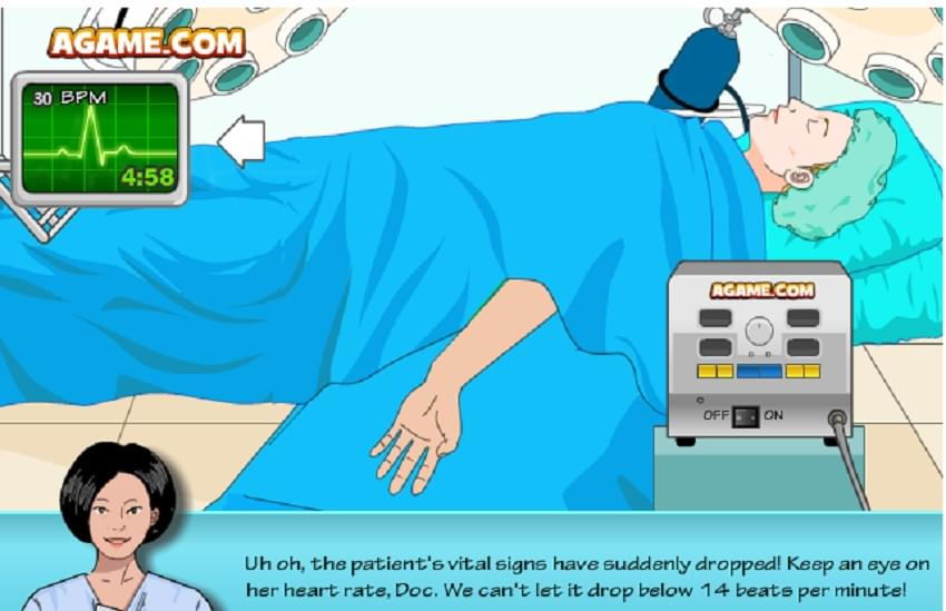 لعبة العملية الجراحية
