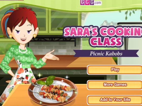 العاب طبخ كباب سارة
