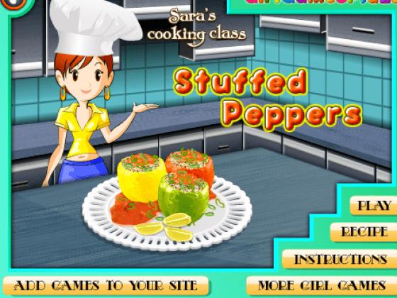 العاب طبخ سارة المحشى