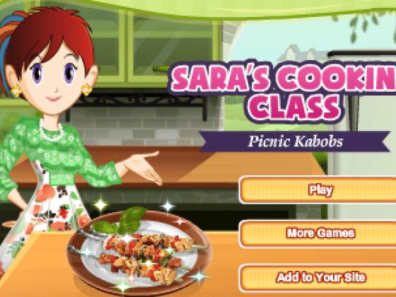 العاب طبخ الكباب مع سارة