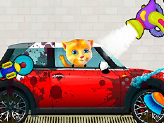 العاب سيارات توم القط