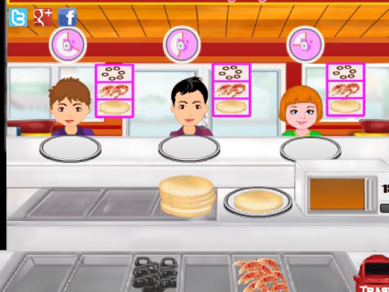العاب مطعم البيتزا