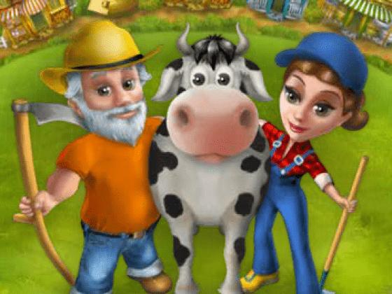 لعبة المزرعة العائلة