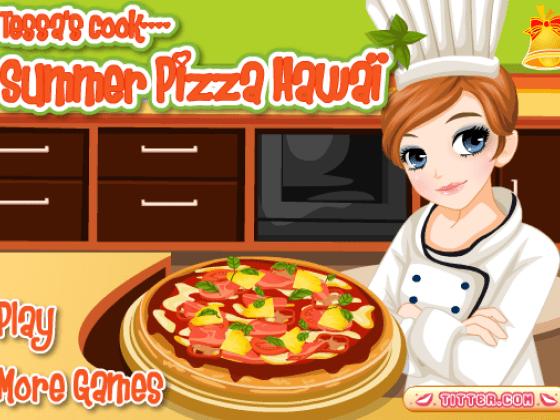 العاب طبخ بيتزا ايطالى