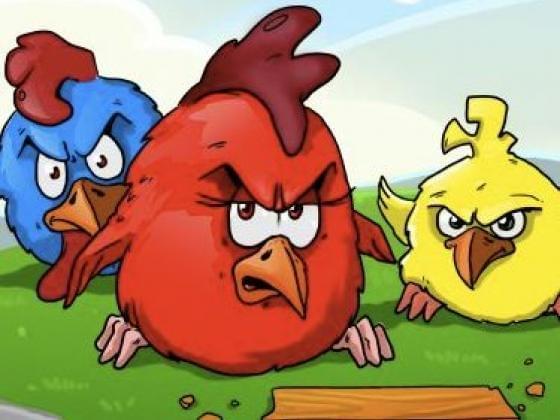 العاب فلاش الطيور الغاضبة