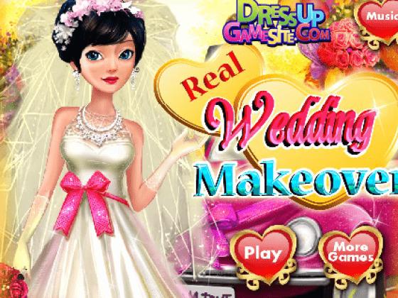 العاب تنظيف بشرة العروسة