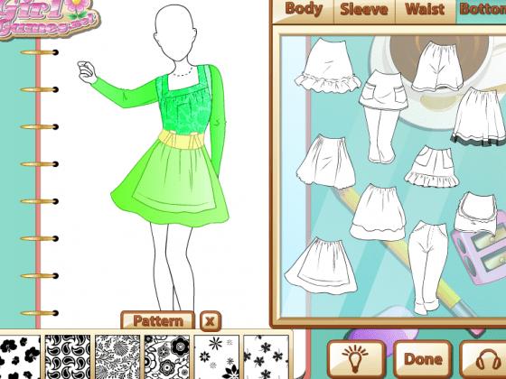 العاب خياطة الملابس