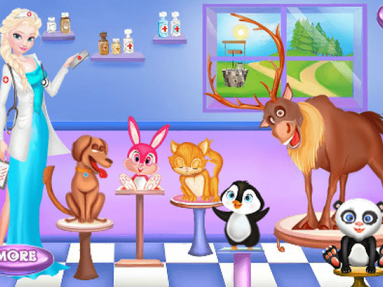 العاب علاج الحيوانات