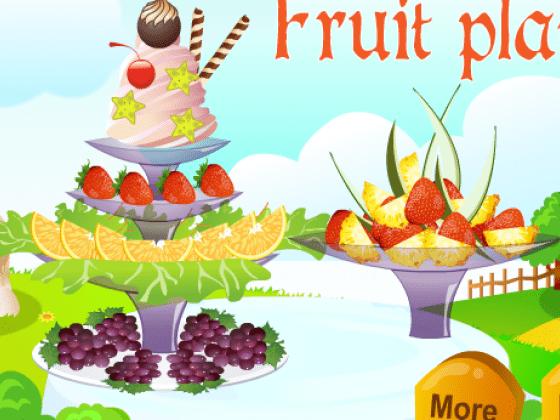 العاب طبق الفاكهة