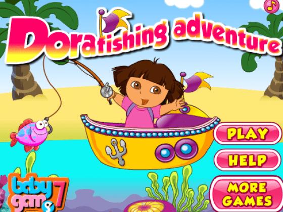 العاب دورا صيد السمك