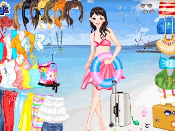 العاب تلبيس بنات الصيف