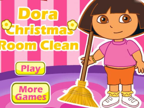 العاب تنظيف المنزل مع دورا