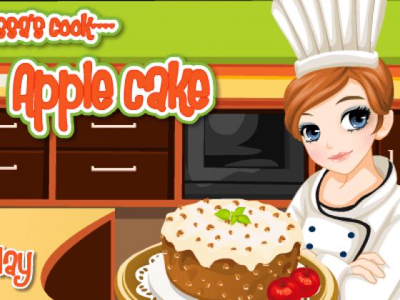 العاب طبخ كيكة التفاح