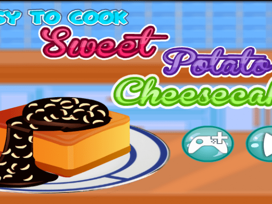 العاب طبخ حلوى البطاطا