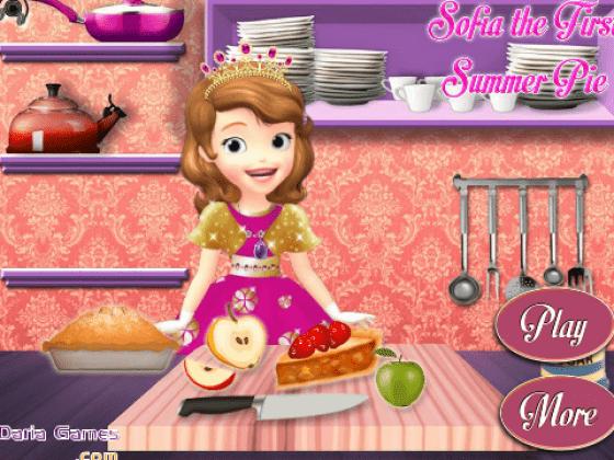 العاب طبخ الاميرة صوفيا