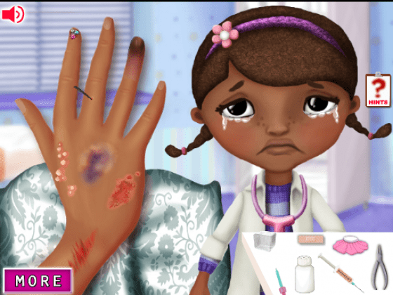 العاب علاج الاطفال