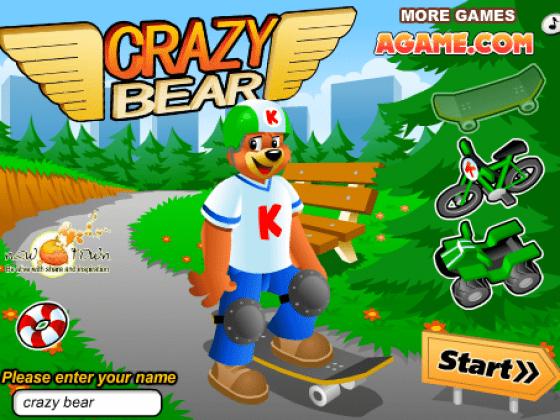 العاب الدب المغامر